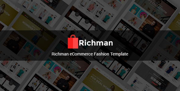 Richman - eCommerce Fashion Template - Fashion Retail
