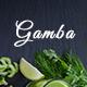 Gamba - Organic PSD Template Nulled