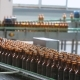 Automatic Supply Of Bottles On The Bottling Line - VideoHive Item for Sale