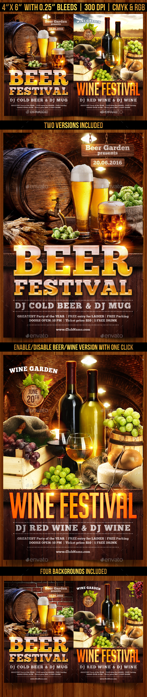 Beer Garden Graphics, Designs & Templates from GraphicRiver