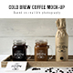 Cold Brew Coffee Mockup - GraphicRiver Item for Sale