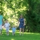Happy Family Going On a Walk - VideoHive Item for Sale