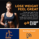 Gym Flyer Template - GraphicRiver Item for Sale