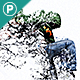 Water Scatter Photoshop Action - GraphicRiver Item for Sale