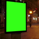 A Billboard with a Green Screen - VideoHive Item for Sale