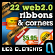 Web Ribbons & Corner Graphics - GraphicRiver Item for Sale