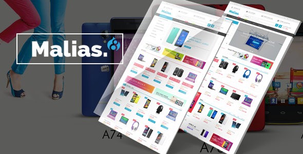 Malias - Responsive Drupal Commerce Theme - Shopping Retail