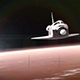 Space Shuttle over Mars - VideoHive Item for Sale