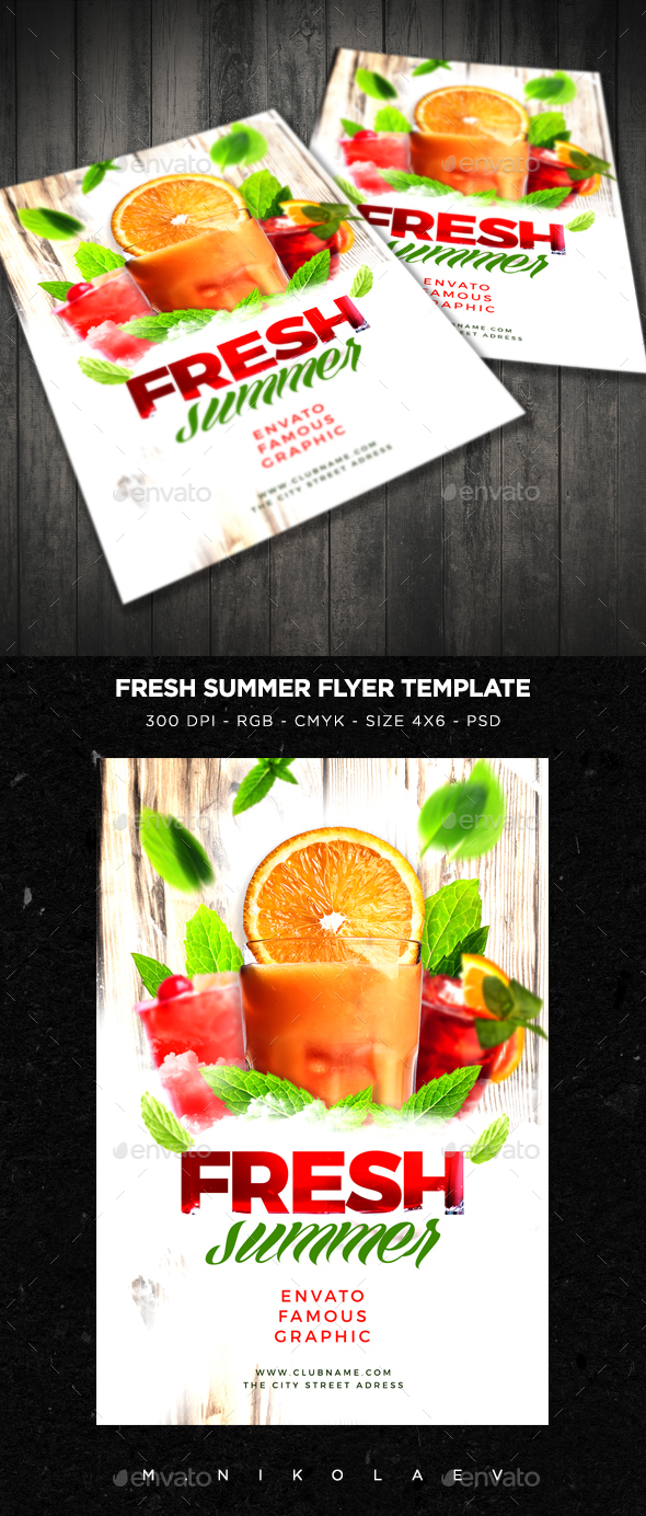 Fresh Summer Flyer