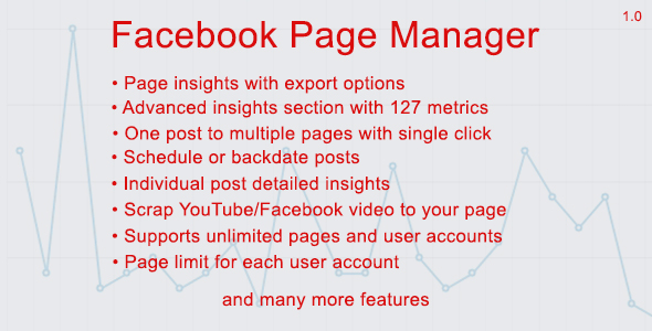 Facebook Page Manager - CodeCanyon Item for Sale