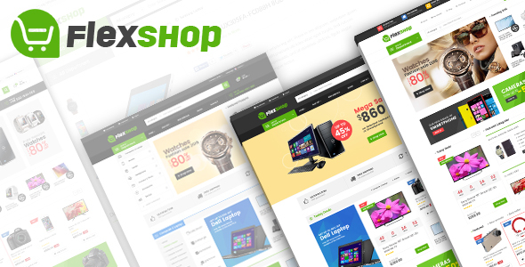 01 preview.  large preview - Flexshop - Multipurpose Responsive Magento 2 Theme