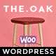 WordPress WooCommerce Theme for Furniture Decoration Design eCommerce Store | WP TheOak Nulled