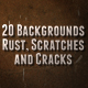 Metal Rust, Scratches and Cracks Backgrounds - GraphicRiver Item for Sale