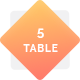 5 Hosting Price Tables - GraphicRiver Item for Sale