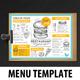 Burger Menu Template - GraphicRiver Item for Sale