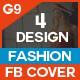 Fashion Sale Facebook Cover - 4 Design