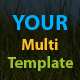Your Multi Template - ThemeForest Item for Sale