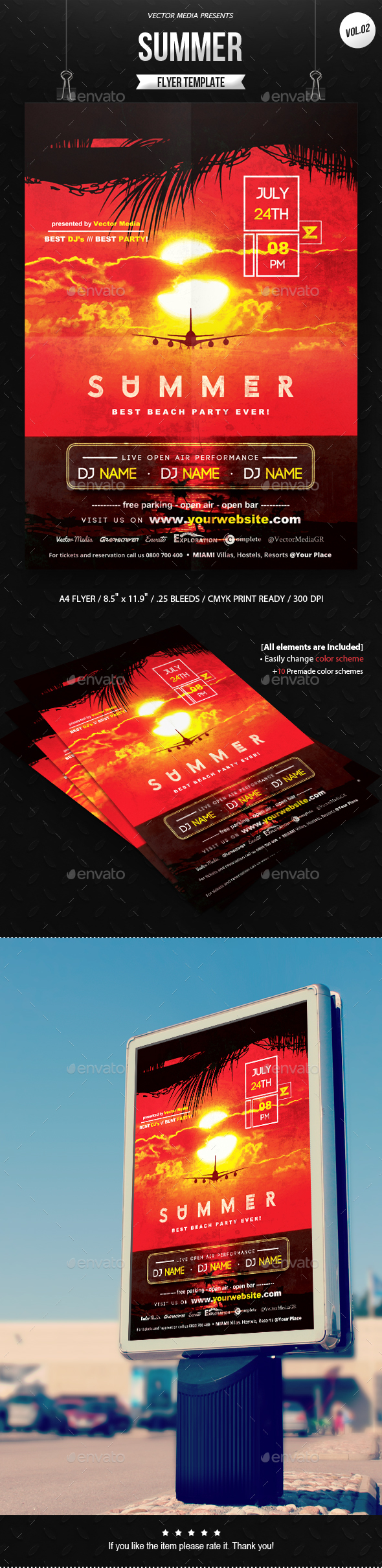 Summer - Flyer [Vol.2]