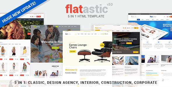 Flatastic – Premium Versatile HTML Template