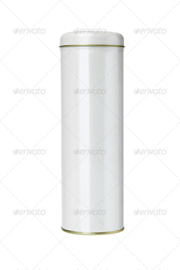 Cylindrical Shaped Gift Container - Stock Photo - Images