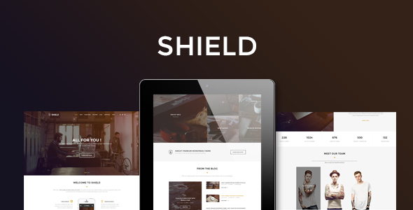 Shield – Corporate and Shop Responsive HTML Bootstrap 3 Template