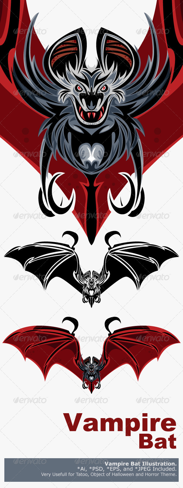 Vampire Bat - Monsters Characters