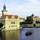 Prague City - Old Town - Charles Bridge - Vltava River - 121