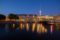 Berlin River Spree and TV Tower (Fernsehturm) - PhotoDune Item for Sale