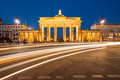 Berlin Brandenburg Gate with traffic - PhotoDune Item for Sale