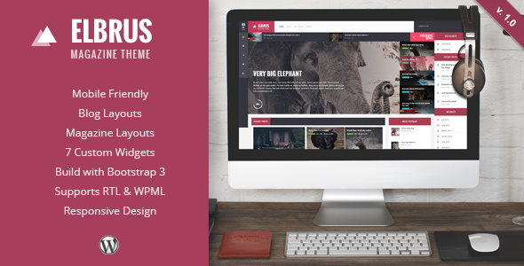 Elbrus – Responsive WordPress Magazine Theme
