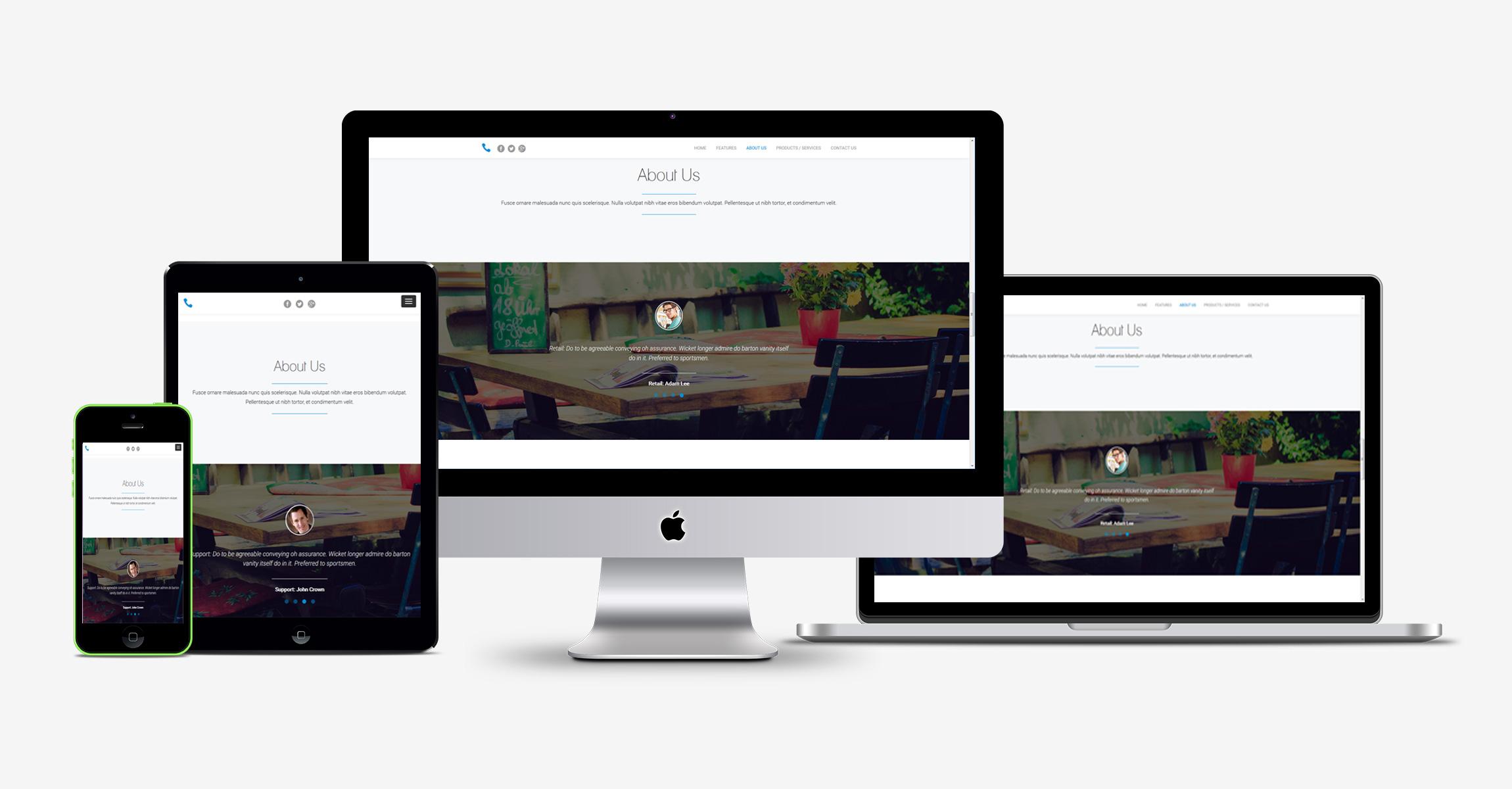 Unusual Sitebuilder Templates Contemporary - Examples Professional ...