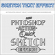 Quick Sketch Text Effect - GraphicRiver Item for Sale
