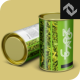 Food Packaging Tube Mockup - GraphicRiver Item for Sale