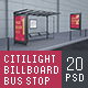 Citylights, Billboards, Bus Stops. Day Mockup. - GraphicRiver Item for Sale