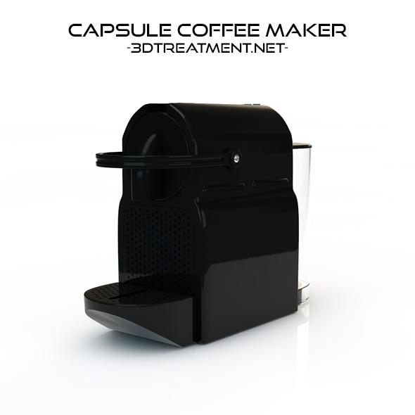 Capsule Coffee Maker - 3DOcean Item for Sale