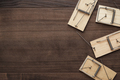 mousetraps on the wooden background - PhotoDune Item for Sale