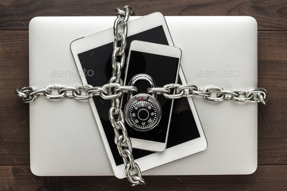 data security concept - Stock Photo - Images