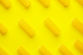 hair curlers on yellow background - PhotoDune Item for Sale