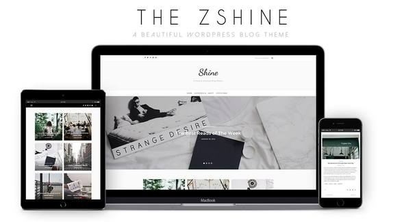 ShineBlog – A Responsive WordPress Blog Theme