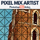 Pixel Mix Artist Photoshop Action - GraphicRiver Item for Sale