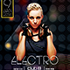 Electro House Flyer Template - GraphicRiver Item for Sale
