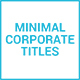 Minimal Corporate Titles - VideoHive Item for Sale