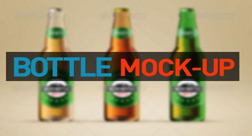 Best Wine and Beer Bottle Mockup