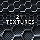 Metal Hexagon and Carbon Fibre Textures - GraphicRiver Item for Sale