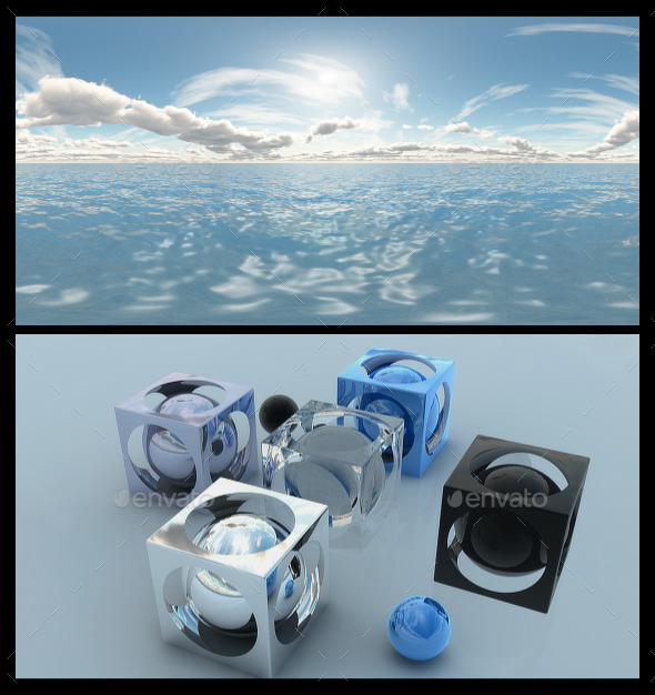 Ocean Bright Day 10 - HDRI - 3DOcean Item for Sale