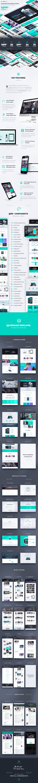 SpiritApp Landing Page UI Kit & Premade Templates (Light Style) by ...