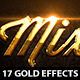 17 Golden Classy Text Effects  - GraphicRiver Item for Sale