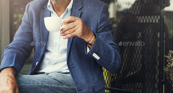Cafe Coffee Caffeine Casual Relaxation Style Concept - Stock Photo - Images