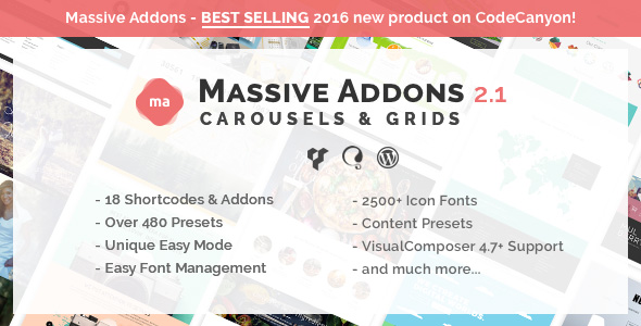 Massive Addons for Visual Composer - Collections Pack - CodeCanyon Item for Sale