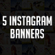 Food Instagram Banners - GraphicRiver Item for Sale